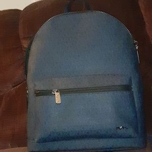 Michael Kors back pack(bag) black/dark blue